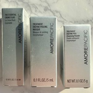 Amore Pacific 3 piece set travel size Unopened